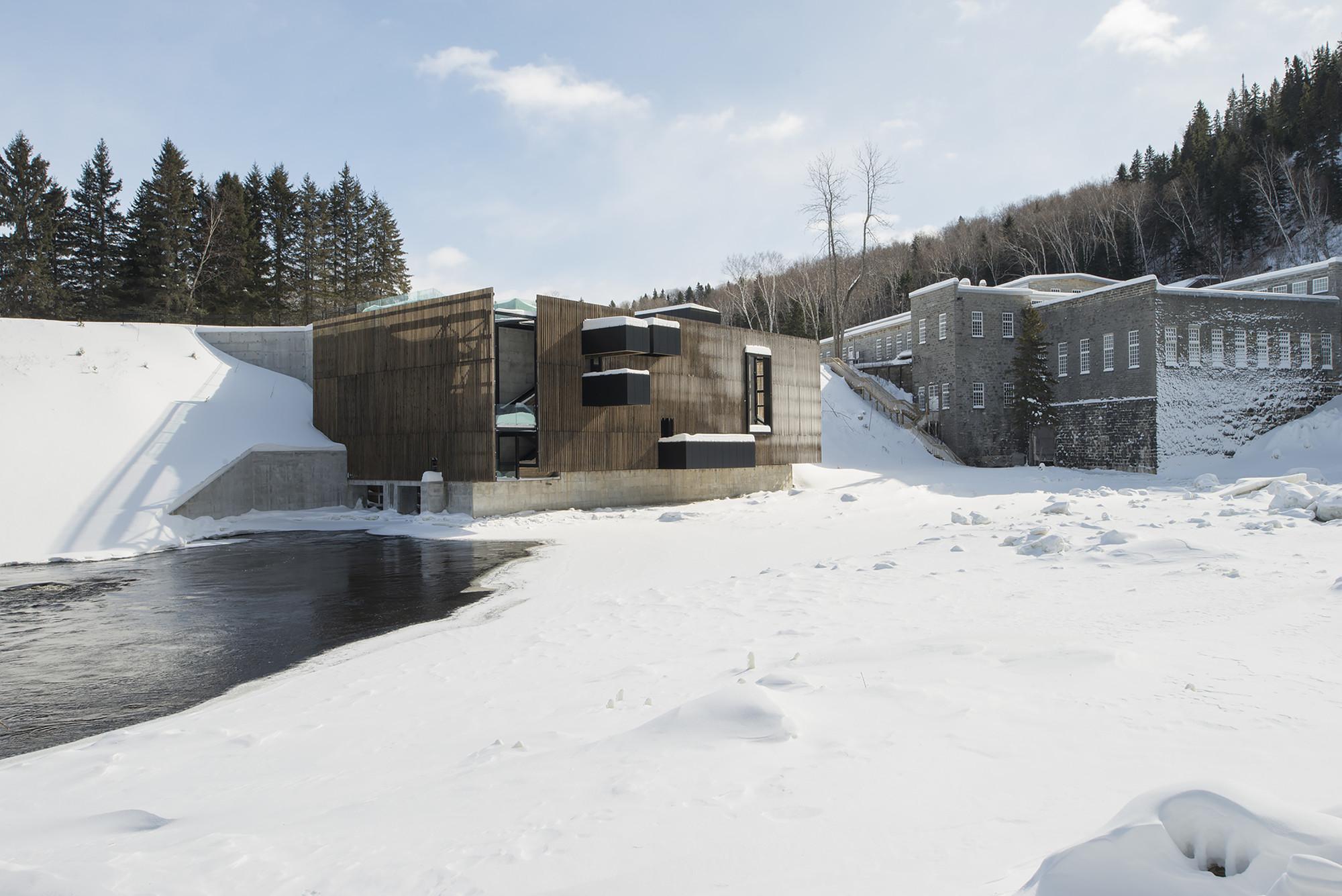 Val-Jalbert Belvedere  / Atelier Pierre Thibault, © Alain Laforest