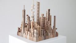 Arte y Arquitectura: Ciudades y paisajes urbanos construidos con desechos de madera