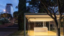 A Pavilion on the Garden / Rafael Alanis, Andres Bonino, Matias Coll, Diego Secco