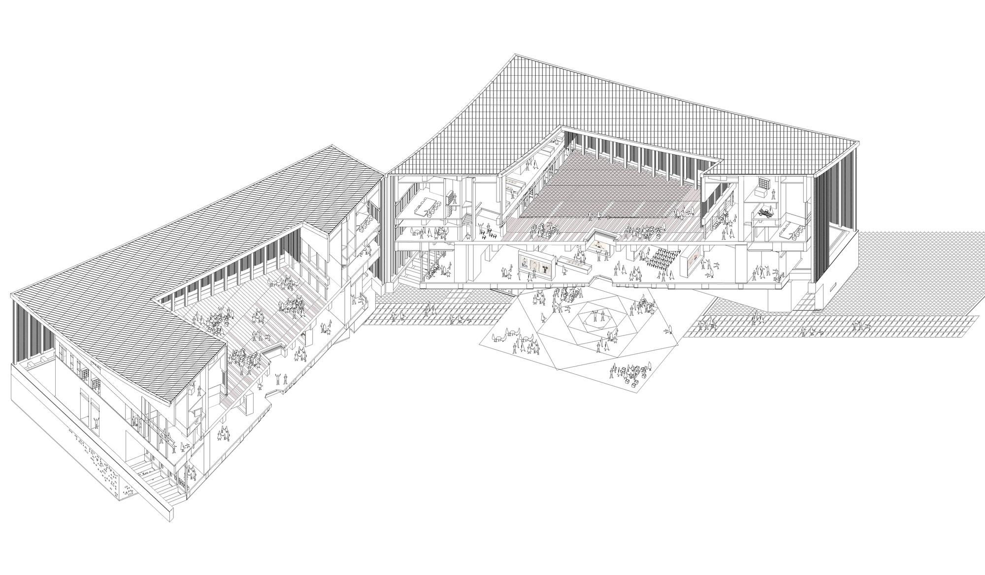 Fan Zeng Art Gallery Original Design Studio Archdaily