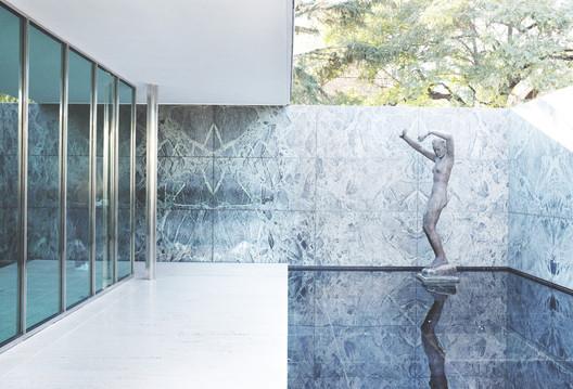 Barcelona Pavilion. Image © Gili Merin