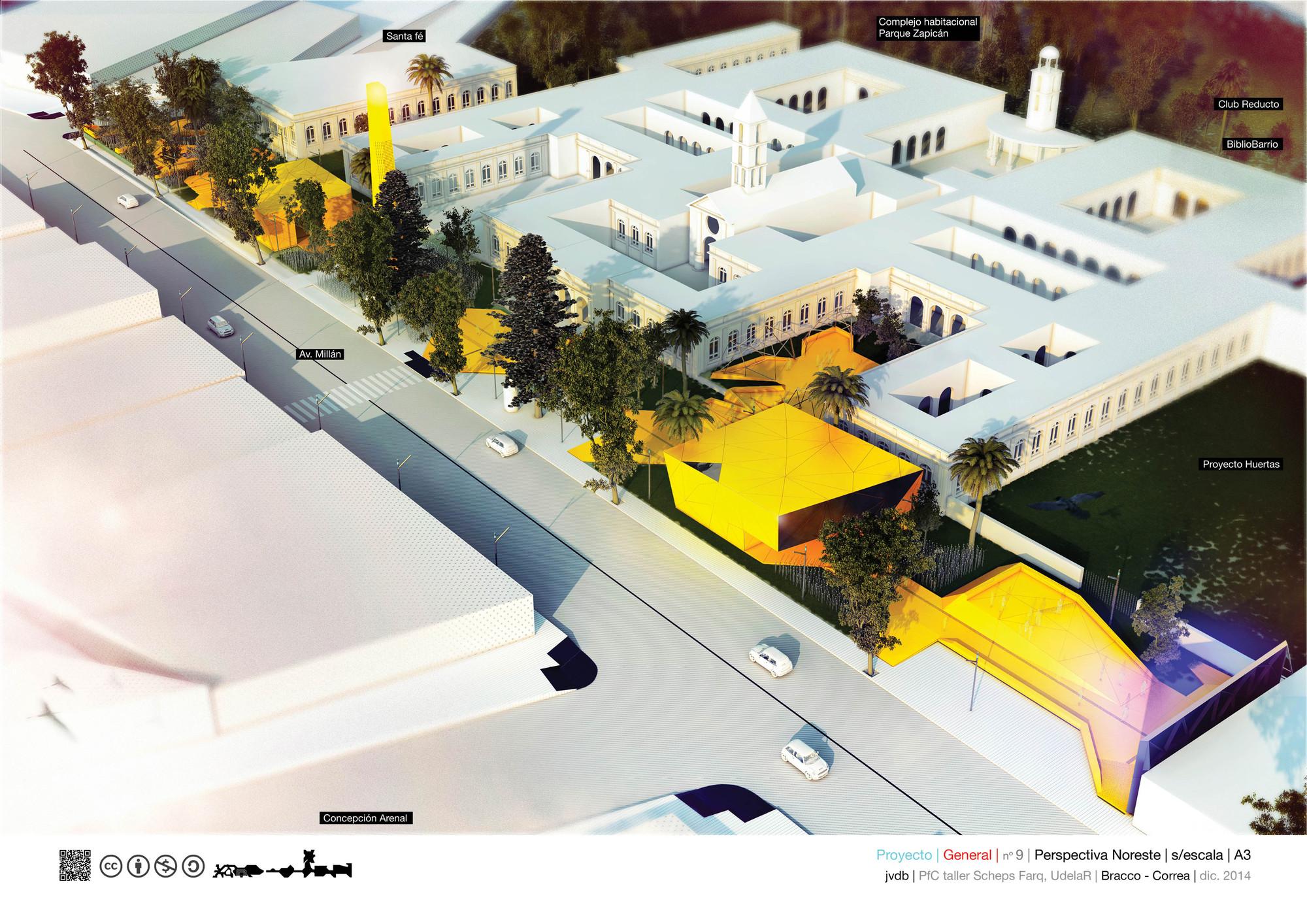 'Jardín Vilardebó', resignificación arquitectónica de la exclusión, el aislamiento y la corrección