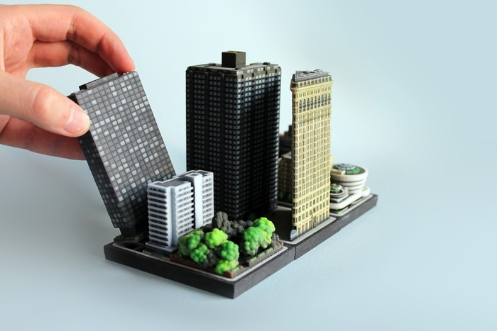 Help Fund Ittyblox's 3-D Printed Miniature Cities, Courtesy of Ittyblox