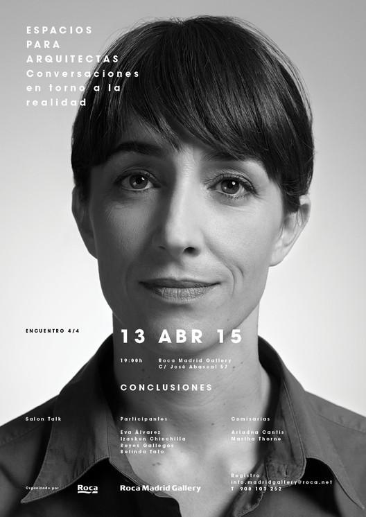 Espacios para Arquitectas 4: conversaciones en torno a la realidad / Madrid