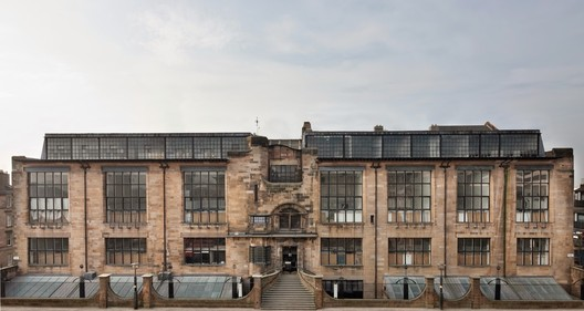 Glasgow School of Art (before the fire). Image © Alan McAteer