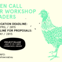 HELLO WOOD OPEN CALL 2015: PROJECT VILLAGE