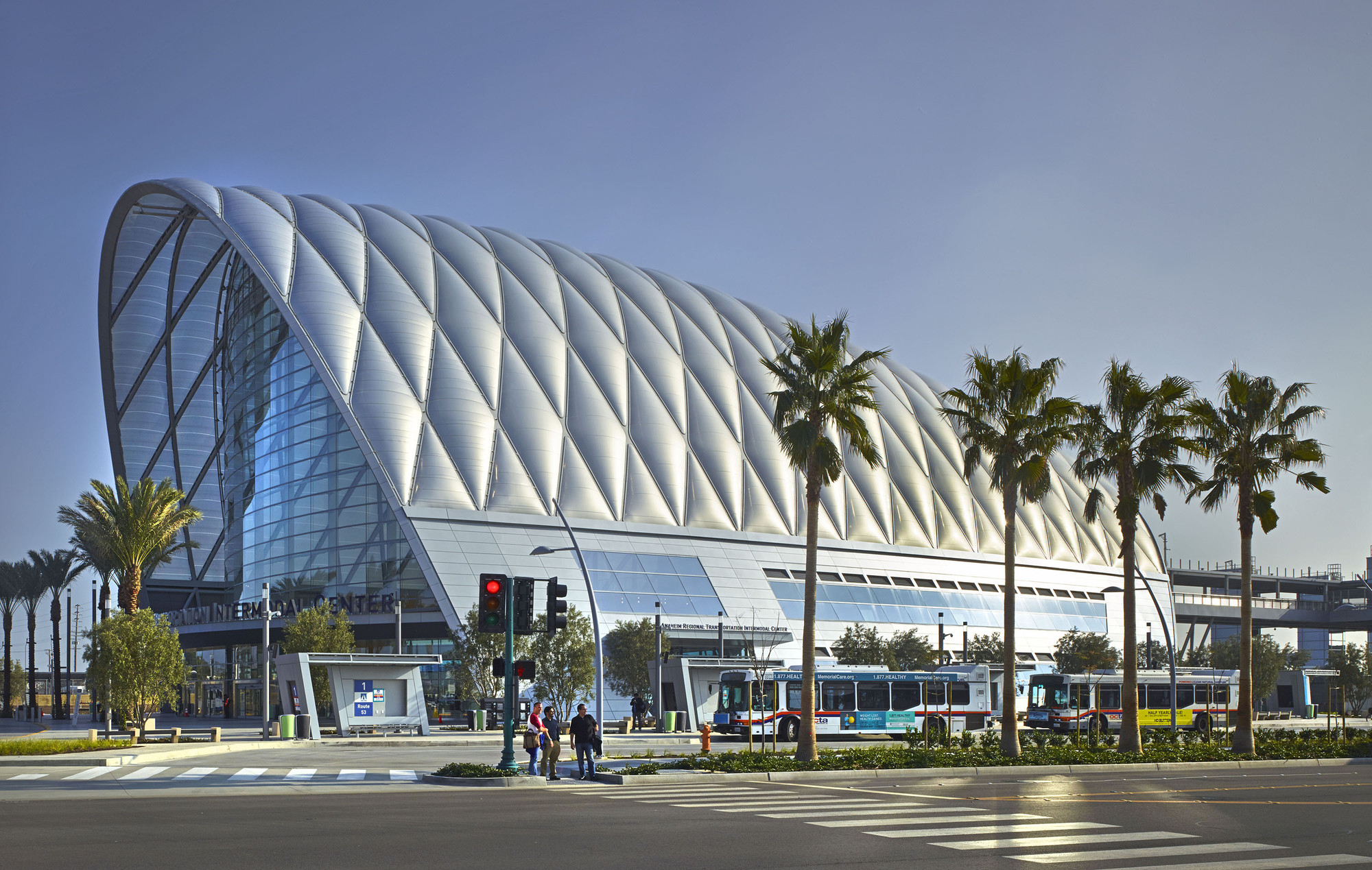 Gallery of anaheim regional transportation intermodal - Maison d architecte orange county californie ...