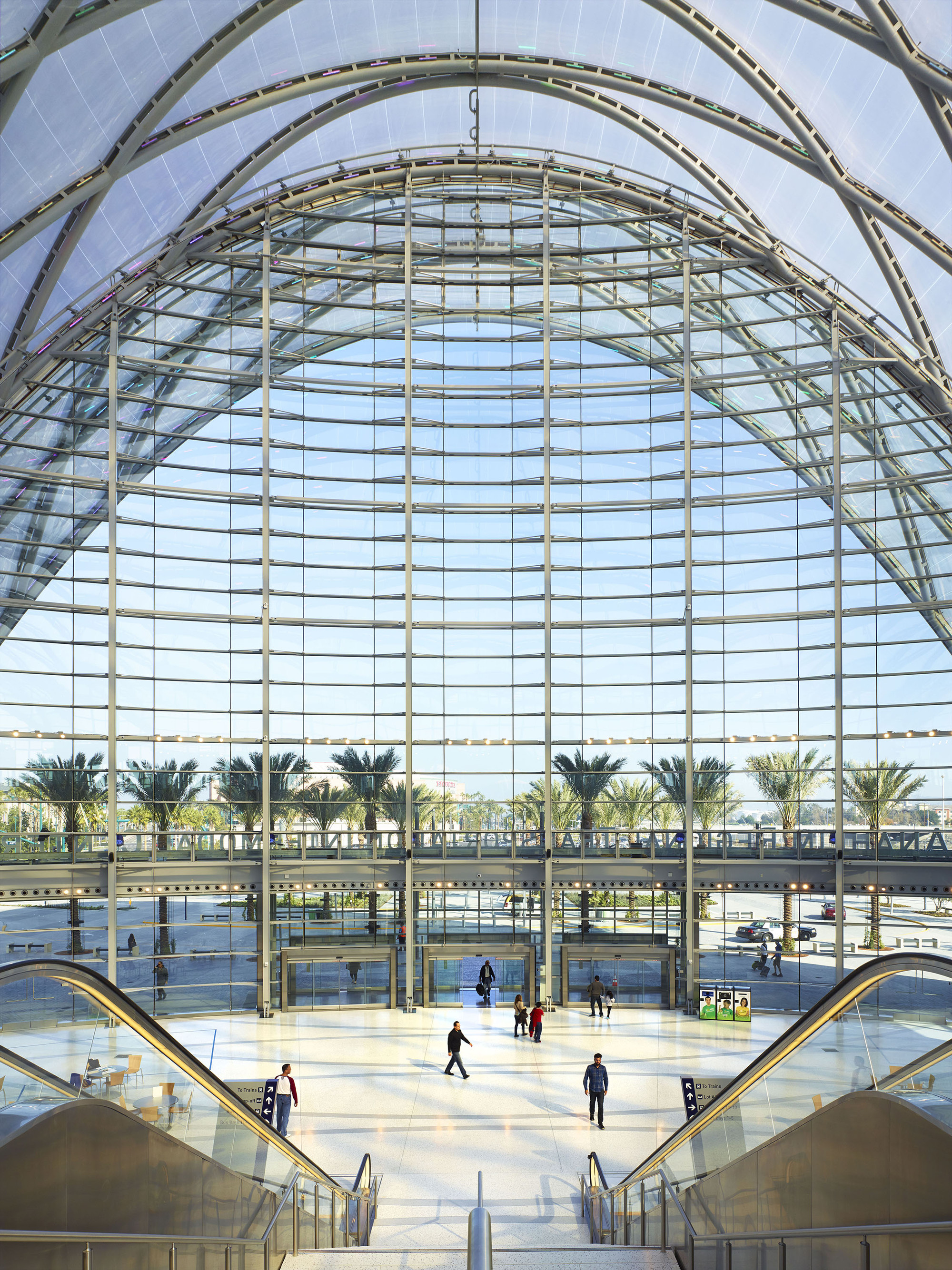 Anaheim Regional Transportation Intermodal Center Hok