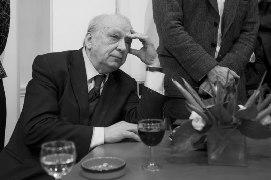 Dalibor Vesely (1934-2015) at the AA, London, in 2013. Image © Valerie Bennett