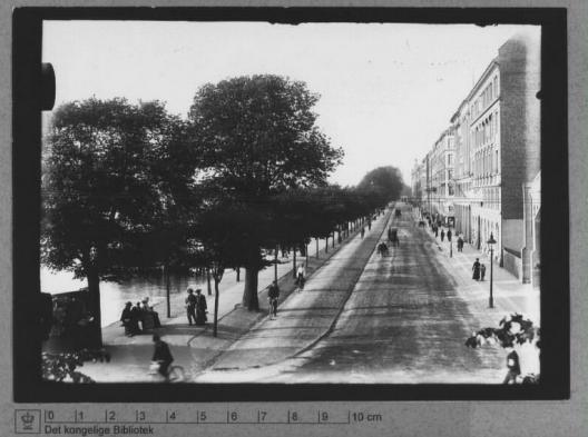 © Primera ciclovía en Copenhague. © Mikael Colville-Andersen, vía Flickr.