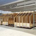 Casa Cluster. Image Cortesia de Construye Solar