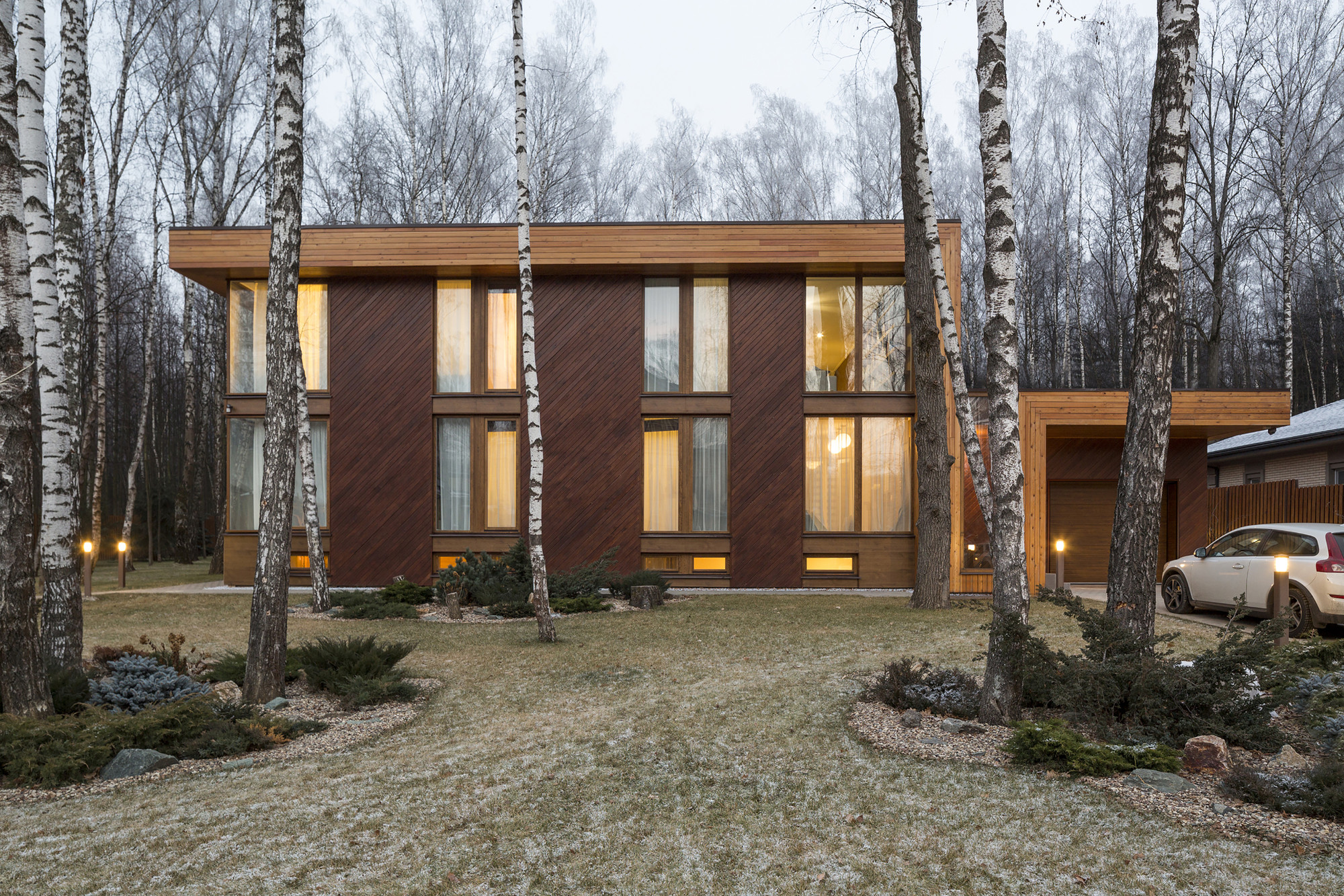 House in the Moscow Region / M2 Architectural Group, © Eugene Kulibaba