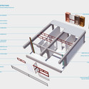 Técnicas construtivas. Image Cortesia de Hereñú + Ferroni Arquitetos