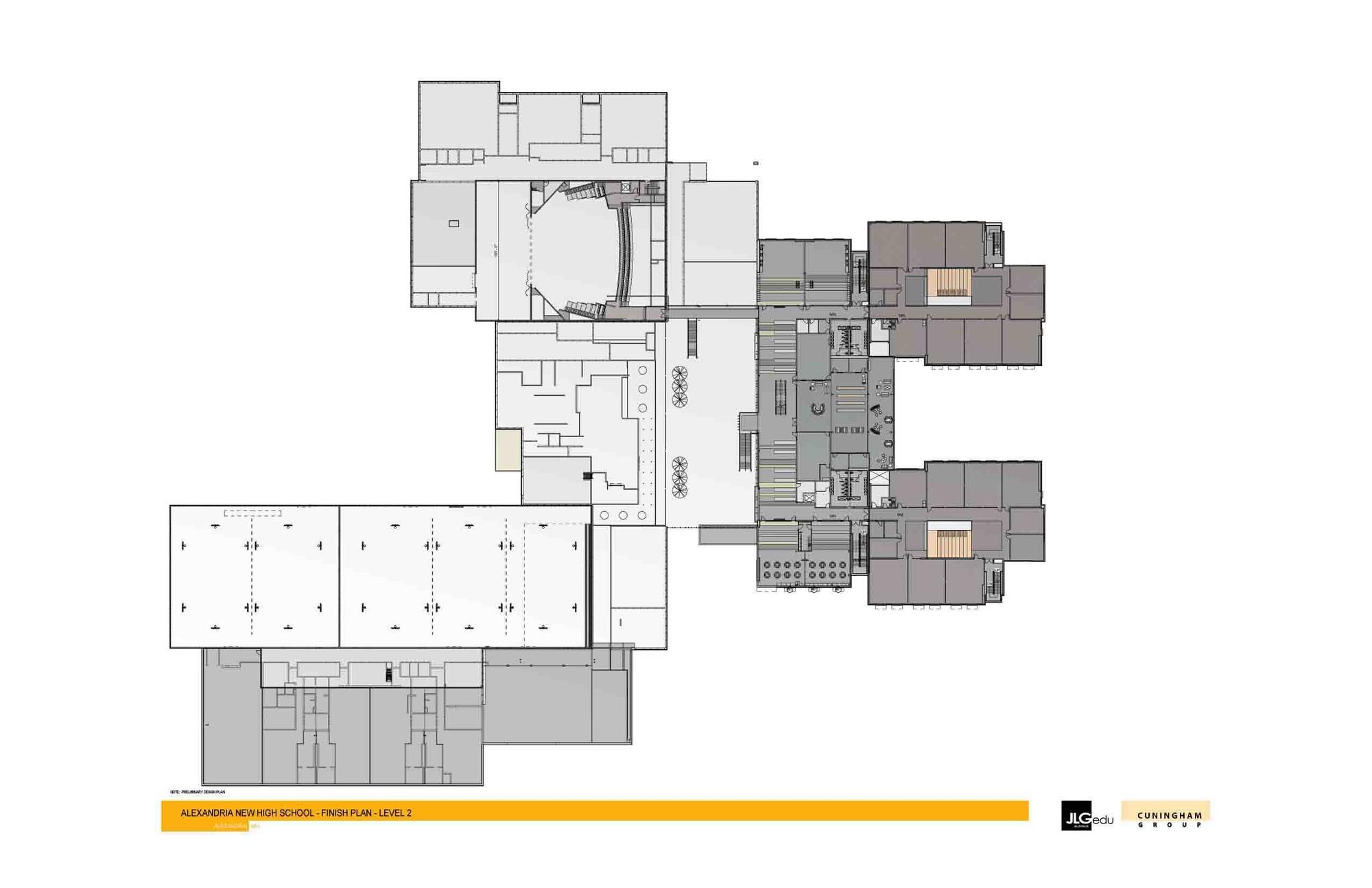 High School Floor Plan Design