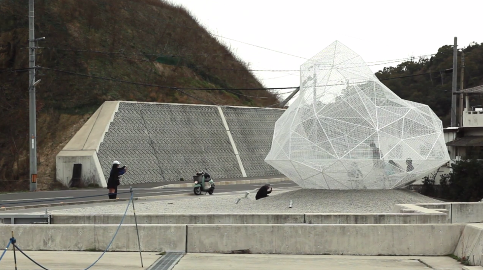 Video: Sou Fujimoto's Polyhedral Naoshima Pavilion Opens in Japan, © Vincent Hecht