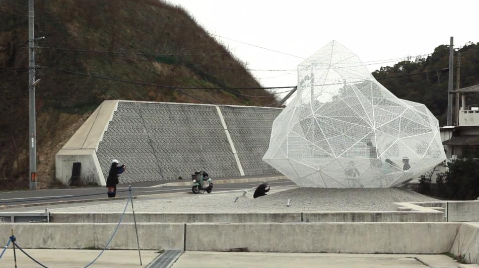 Vídeo: Pavilhão Naoshima, de Sou Fujimoto, é inaugurado no Japão, © Vincent Hecht