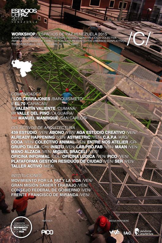 Espacios de Paz Venezuela 2015: Workshop / Venezuela