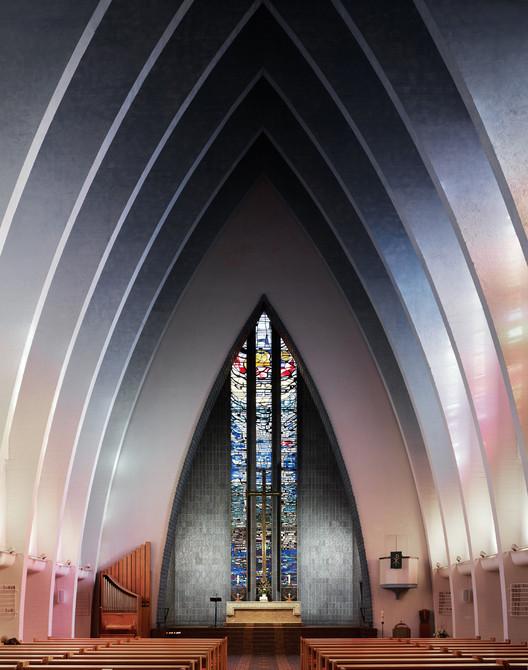 Kirche am Hohenzollernplatz / Fritz Hoger. Imagem © Fabrice Fouillet
