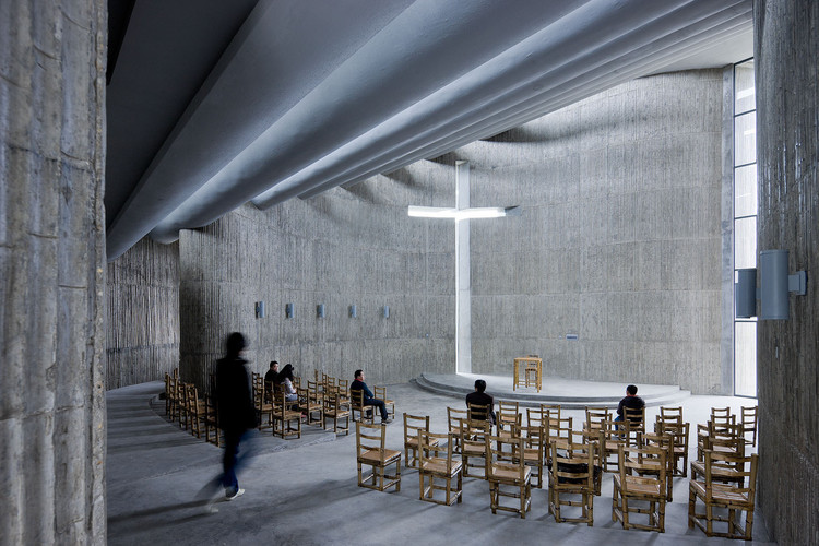 10 Stunning Images of Sacred Spaces, Church of Seed / O Studio Architects. Image © Iwan Baan