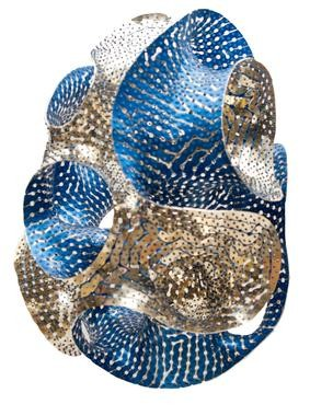 Egg by Marc Fornes & Theveryman. Image Courtesy of Faberge's Big Egg Hunt