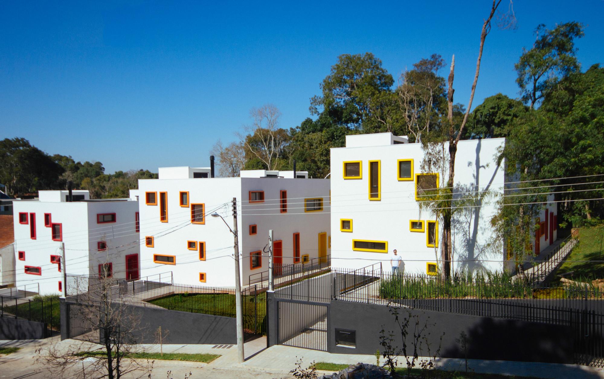 Cube Houses / Aleph Zero + Studio Juliano Monteiro, © Felipe Gomes