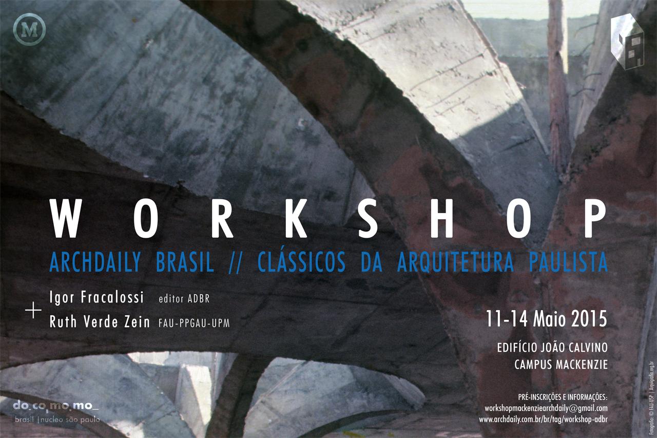 Segunda edição do Workshop ArchDaily Brasil: Clássicos da Arquitetura acontecerá em São Paulo, imagem © FAU, via Arquigrafia