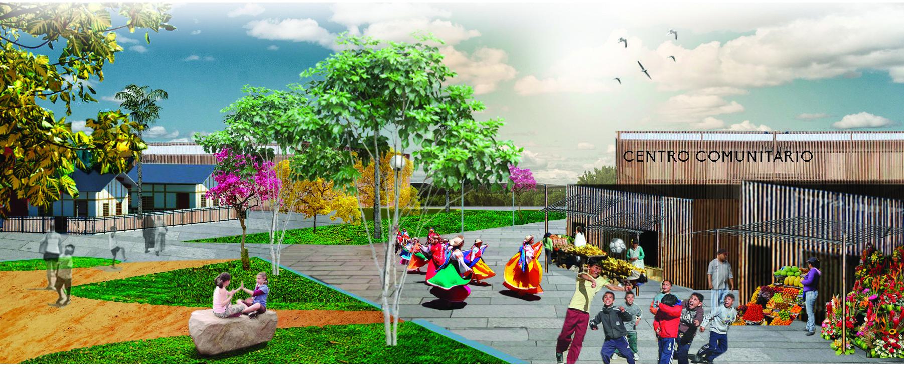Perkins Eastman se asocia con Hogar de Cristo para construir urbanización en Guayaquil, Cortesia de Perkins Eastman