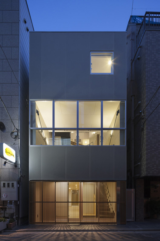 House in Ningyo-cho / K+S Architects, © Hiroshi Ueda