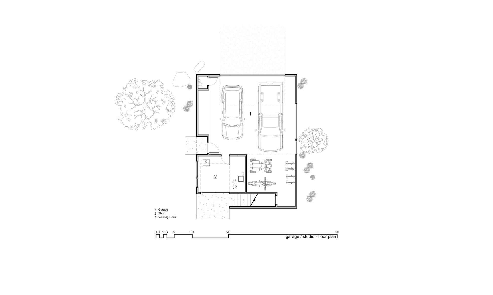 Capitol reef desert dwelling imbue design archdaily for L shaped apartment floor plans