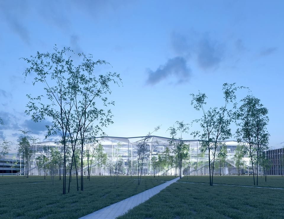 Sou Fujimoto Led Team Selected To Design Ecole Polytechnique Learning  Centre In Paris, Courtesy