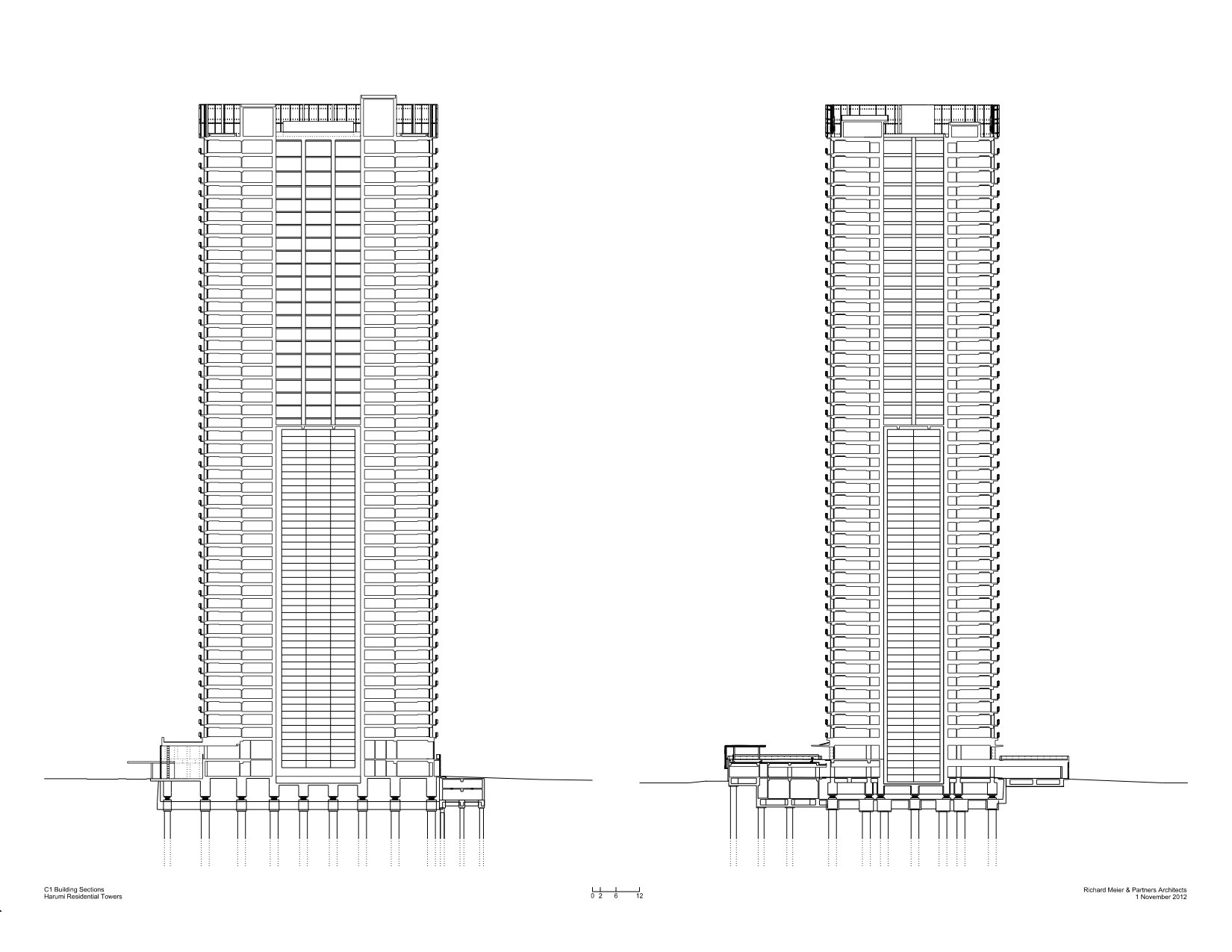 Gallery Of Harumi Residential Tower Richard Meier