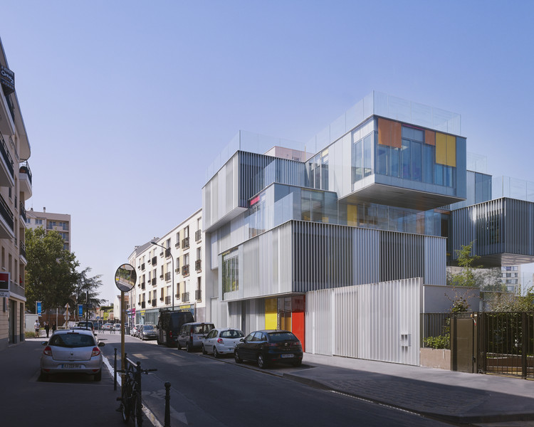 Centro de Educação Infantil / a+ samueldelmas architects urbanistes, © Julien Lanoo