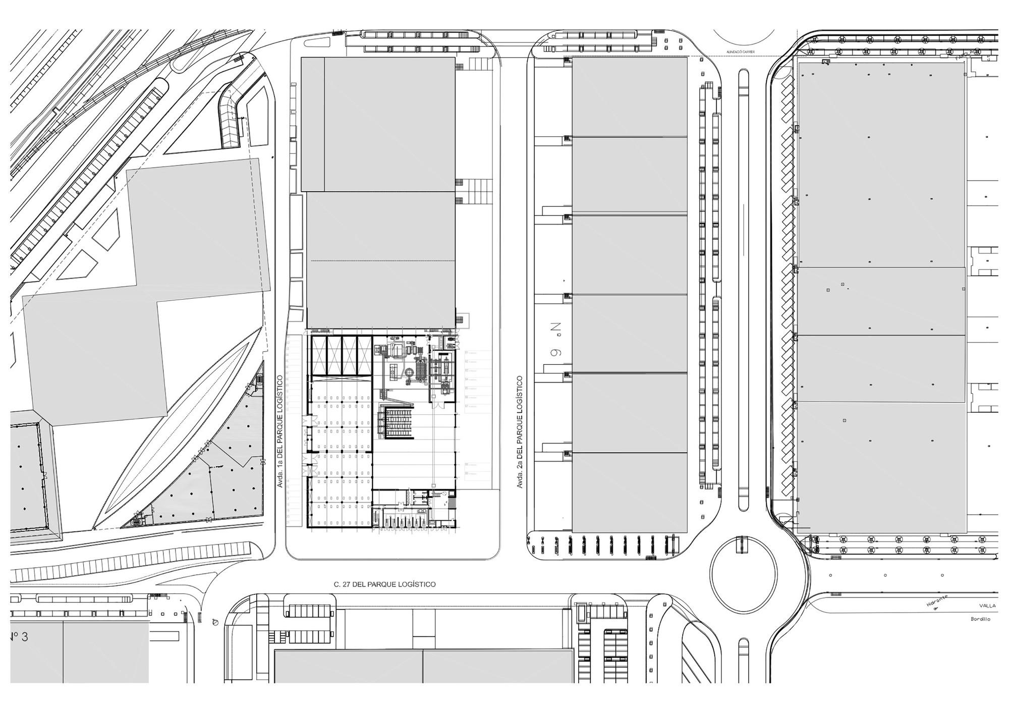 Gallery Of Barcelona Sur Power Generation Plant Forgas Arquitectes Generator Diagram Plantsite Plan