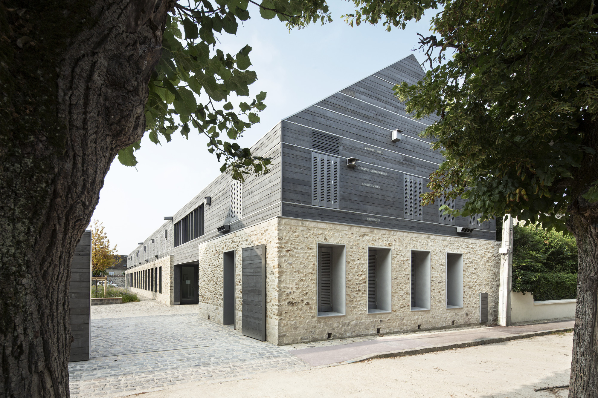 Information Centre for the Parc Naturel Régional Du Gâtinais / JOLY&LOIRET, Courtesy of JOLY&LOIRET