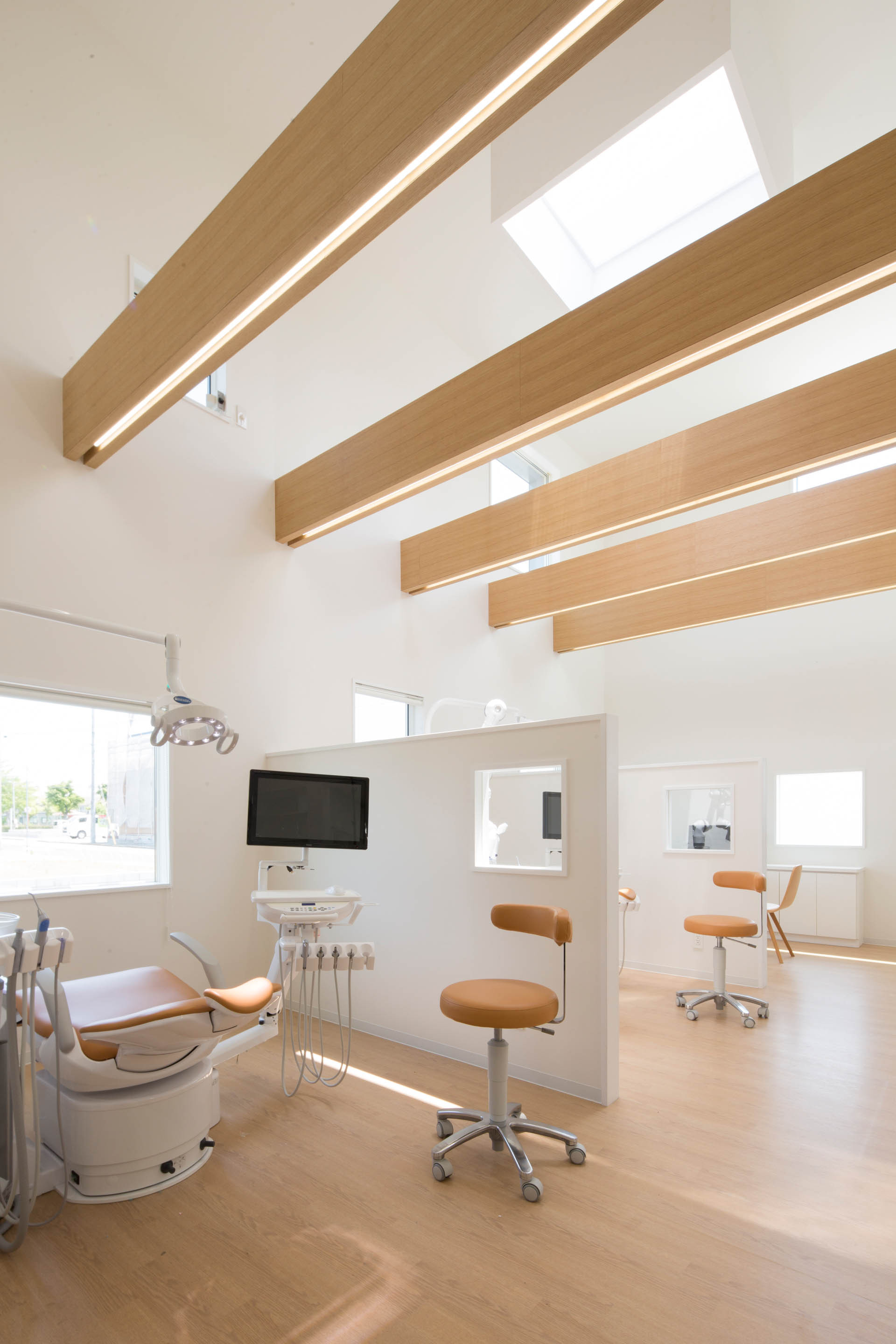 yokoi dental clinic iks design msd office archdaily