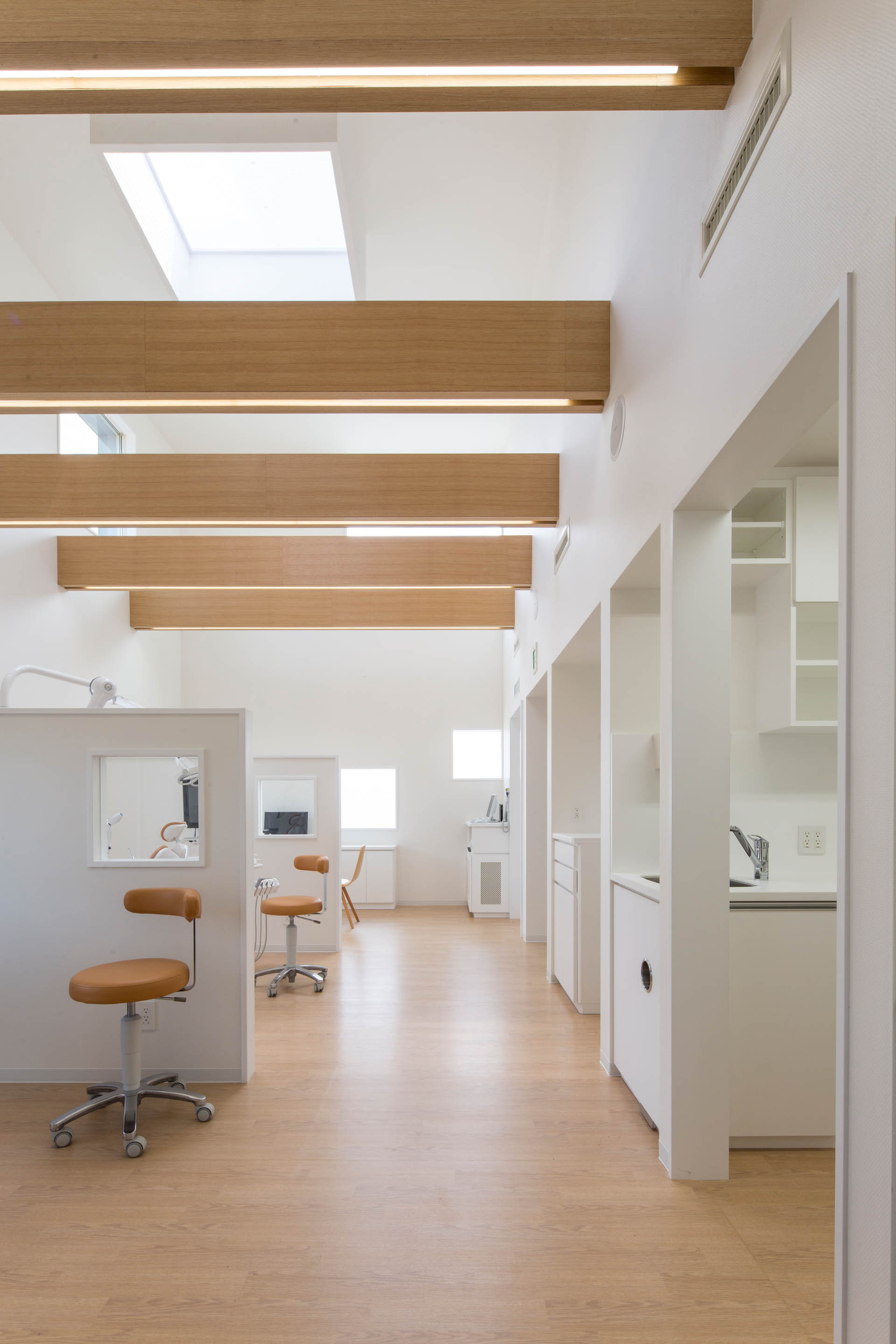 Gallery Of Yokoi Dental Clinic Iks Design Msd Office 3