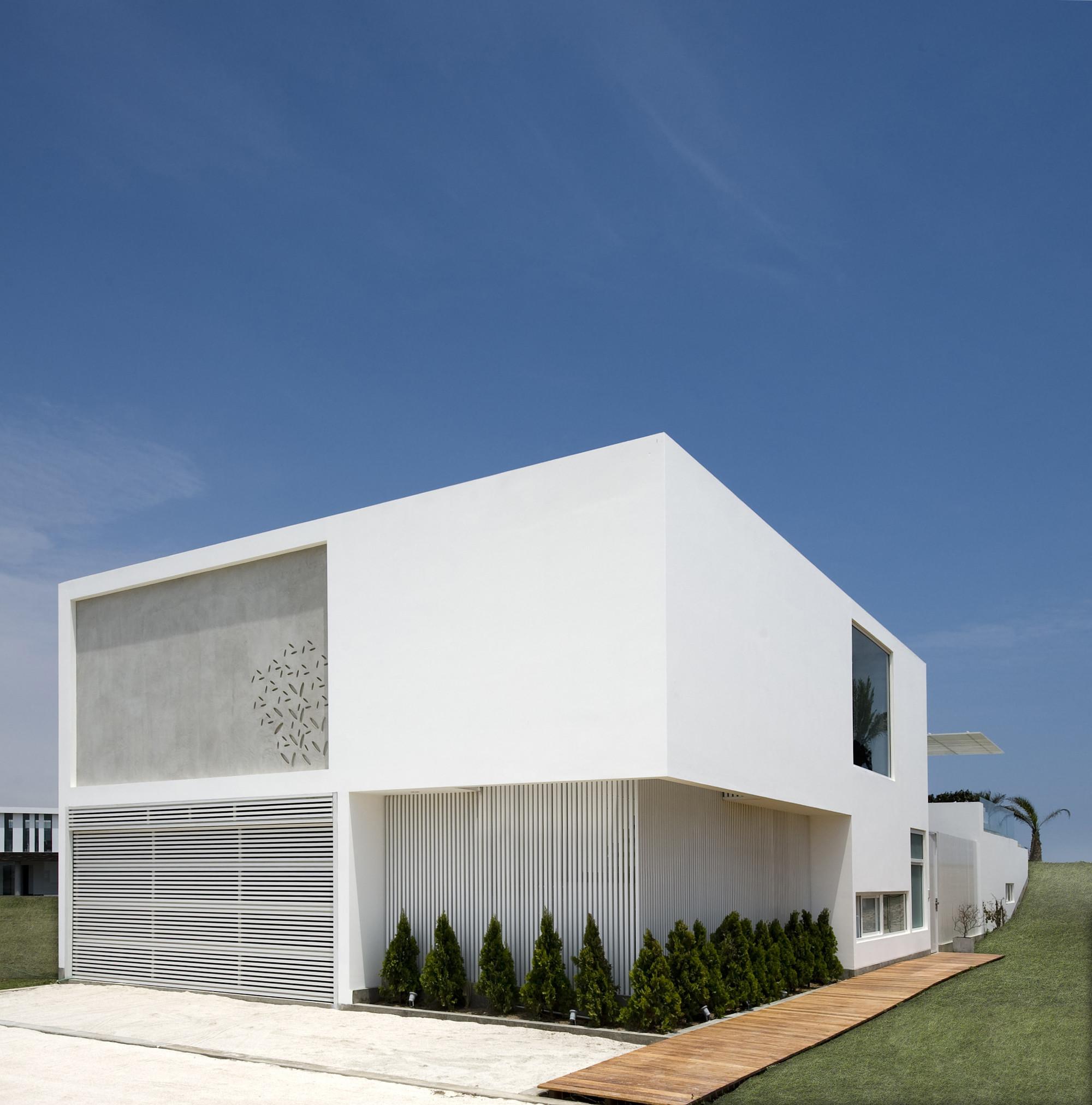 Galeria de casa v estudio 6 arquitectos 8 - Maison architecture contemporaine grupo arquitectura ...