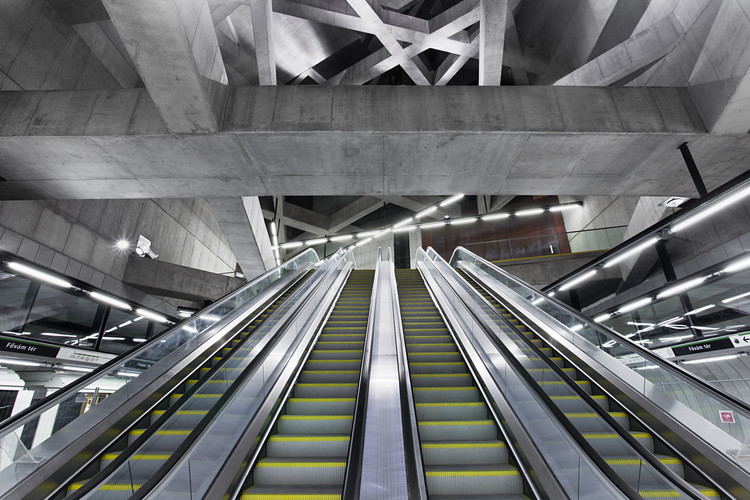 Why Budapest's Contemporary Architects had to Go Underground to Find Success, Gellert Station / sporaarchitects. Image © Tamás Bujnovszky
