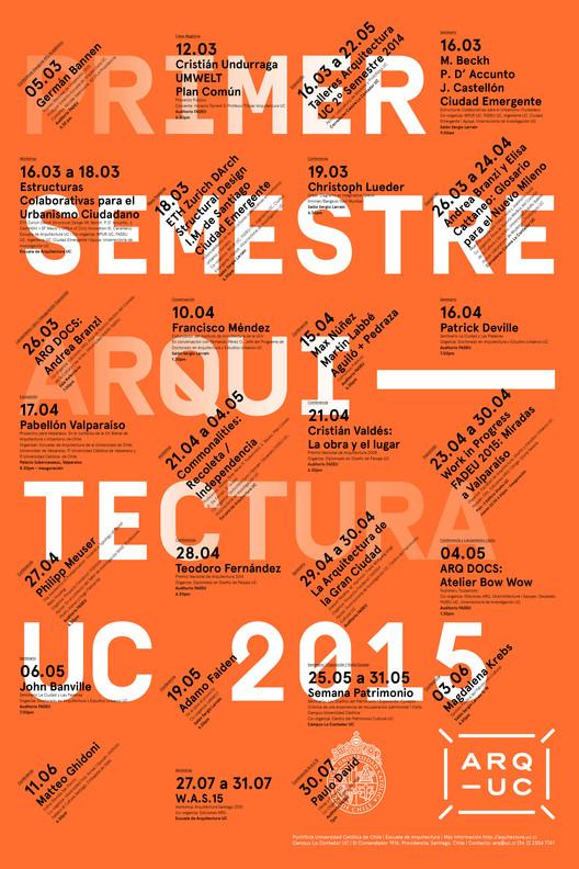 Ciclo de Extensión PUC: Primer Semestre 2015 / Santiago