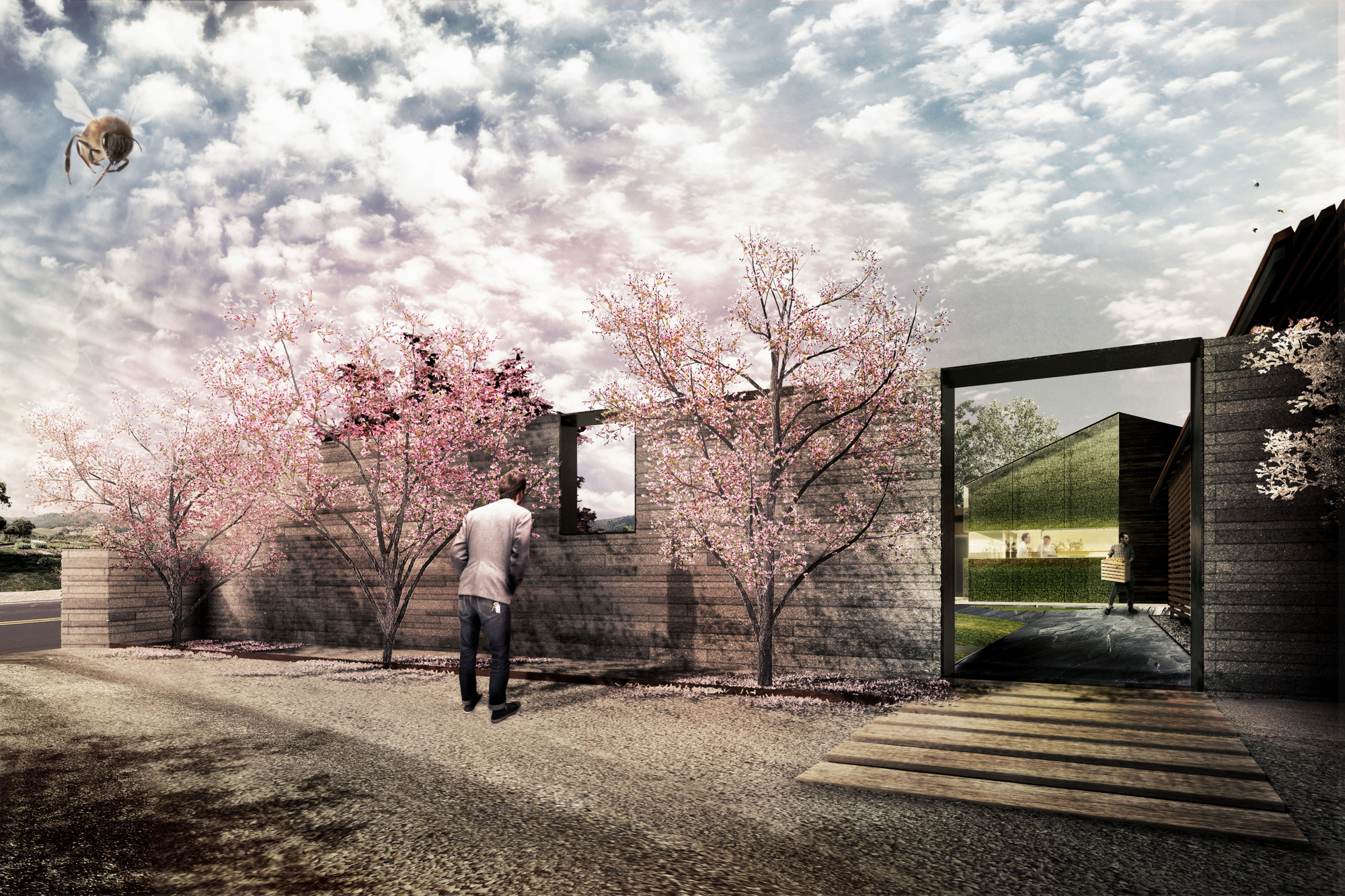 Snøhetta Designs New Kitchen for The French Laundry in California, Kitchen expansion and courtyard renovation . Image Courtesy of Snøhetta
