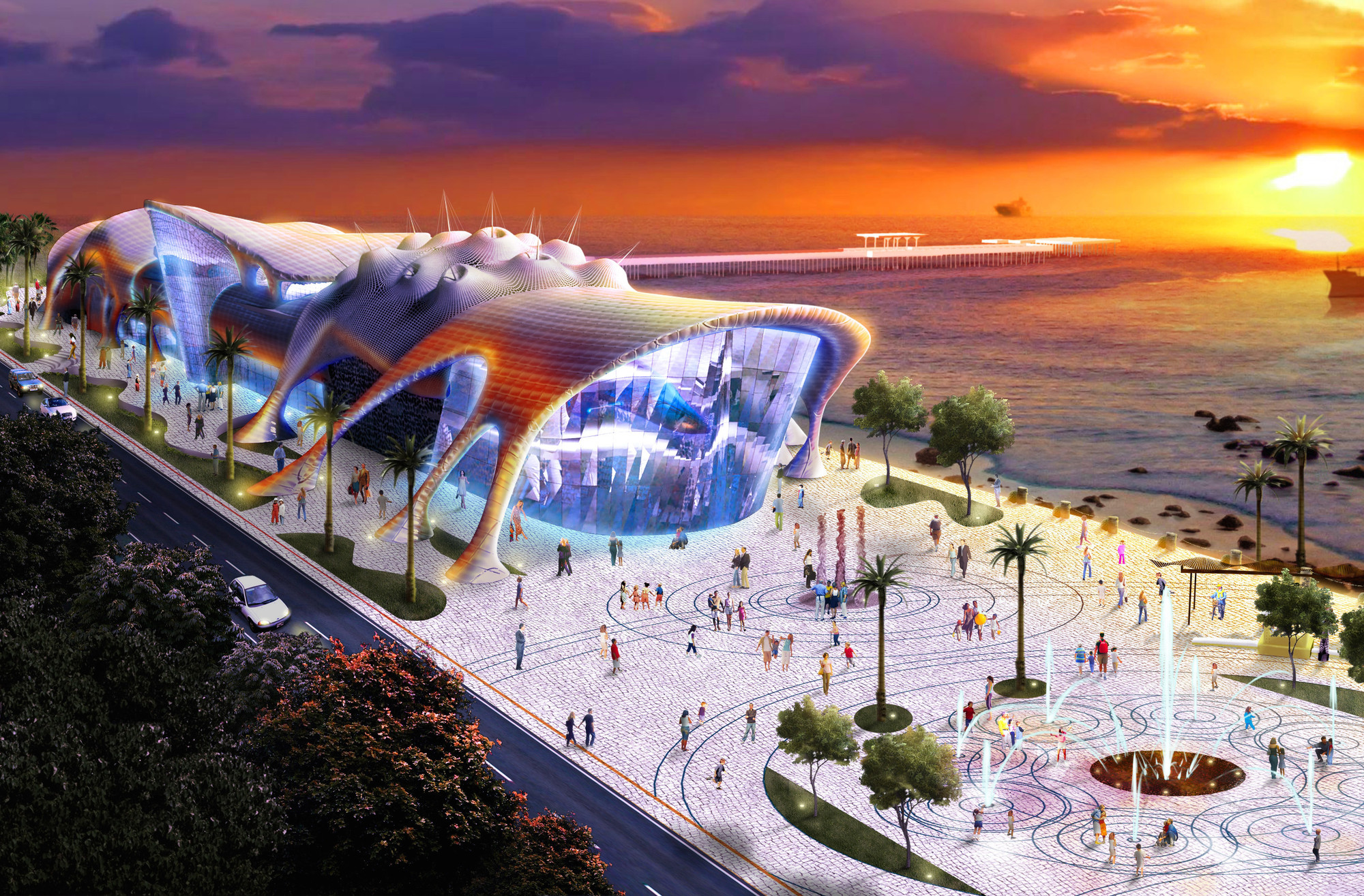 Architecture, Economics and Aquariums: Can ICM Revive the Bilbao Effect in Asia?, Acquario Ceara, Fortaleza. Image Courtesy of ICM