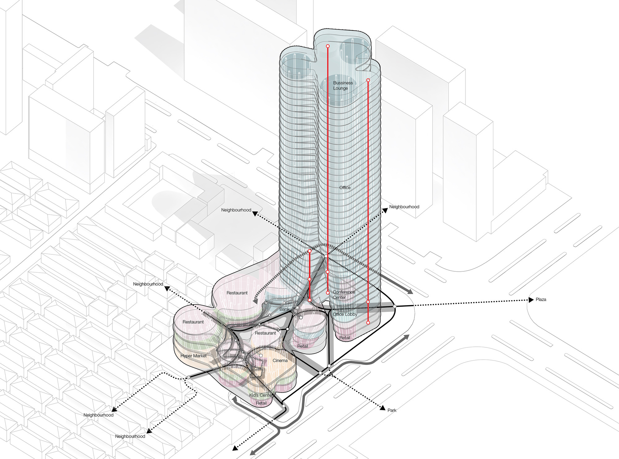 Gallery Of Urban Systems Office S Bundle Tower Reimagines