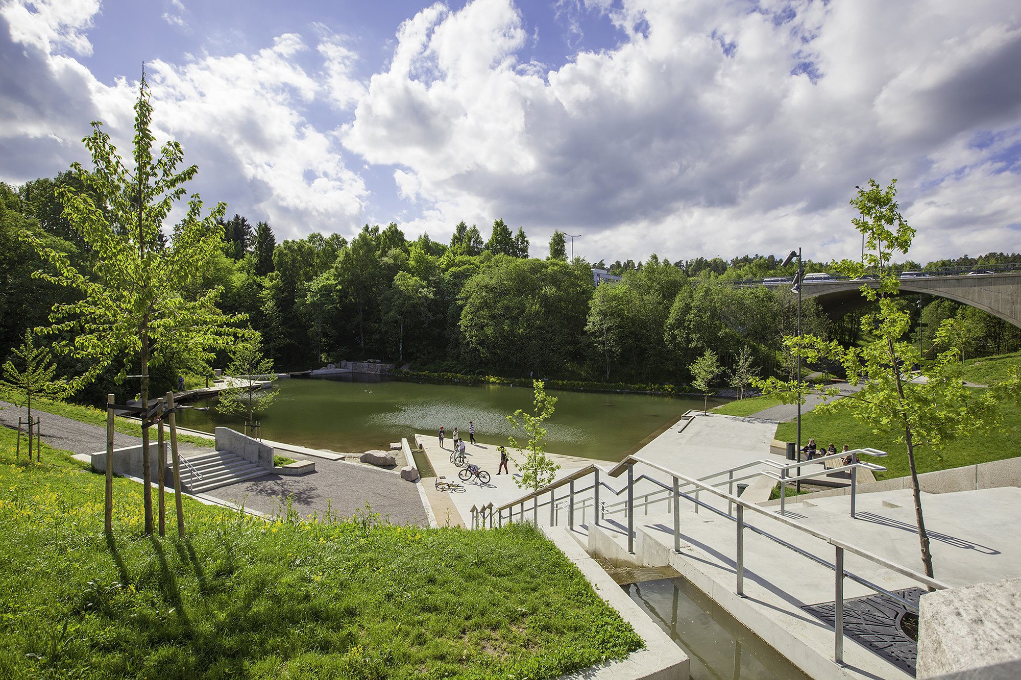 Grorudparken (Parque Grorud) / LINK arkitektur, © Tomasz Majewski