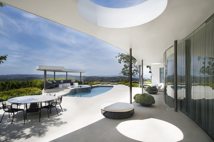 Residência Contemporânea em Trousdale Estates  / Dennis Gibbens Architects, Cortesia de Dennis Gibbens Architects