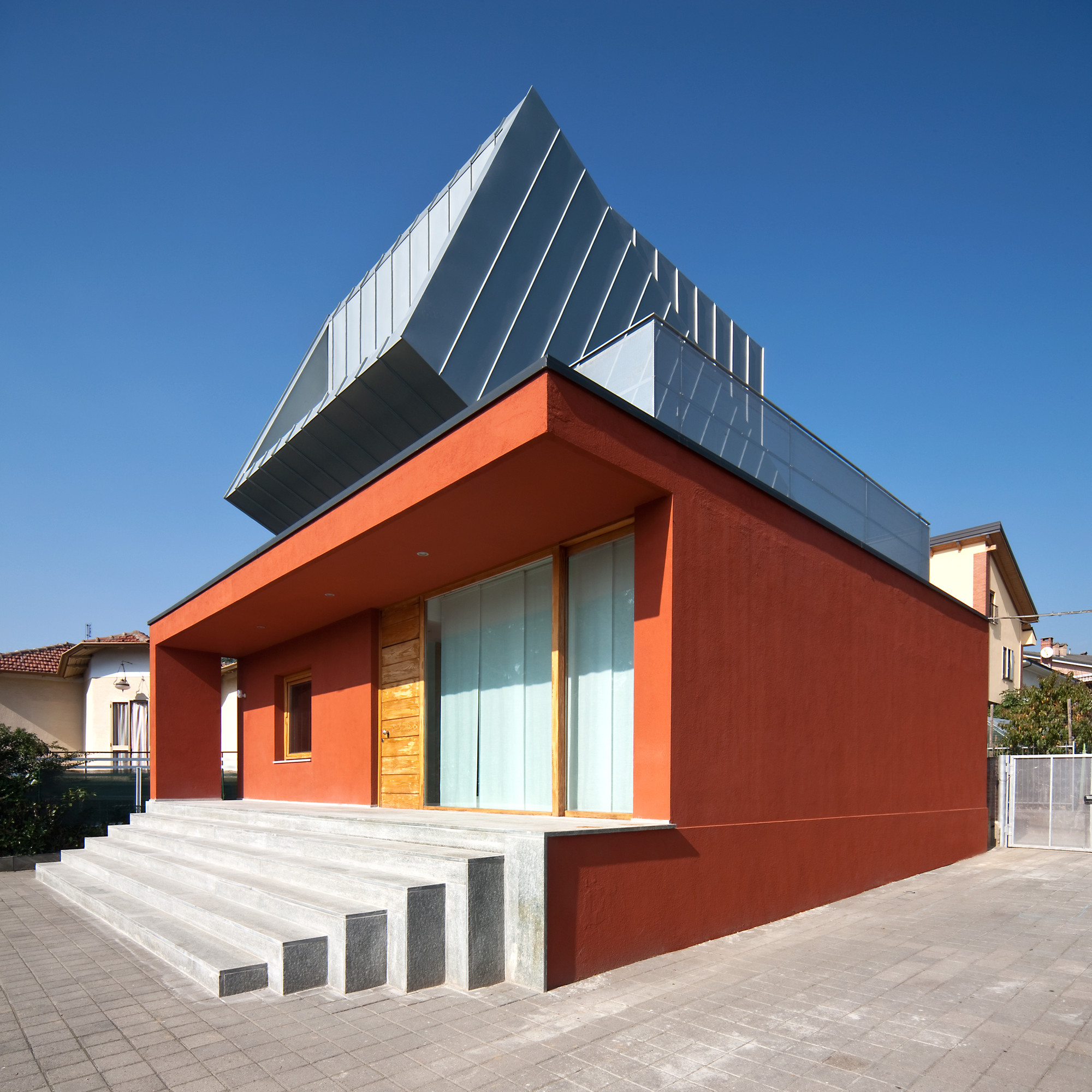 The House on the House / Raimondo Guidacci, © Beppe Giardino
