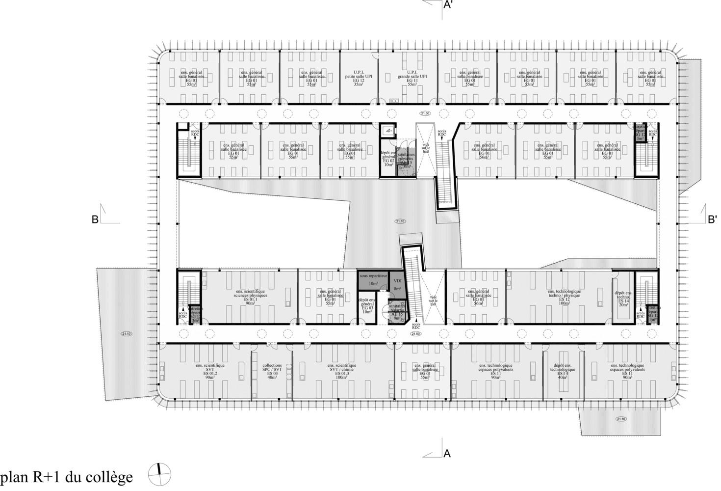 Anne de bretagne secondary schoolfloor plan