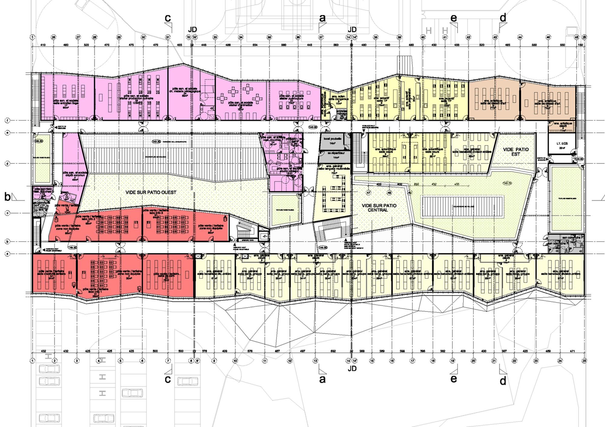 Lycée neslon mandela secondary schoolfloor plan