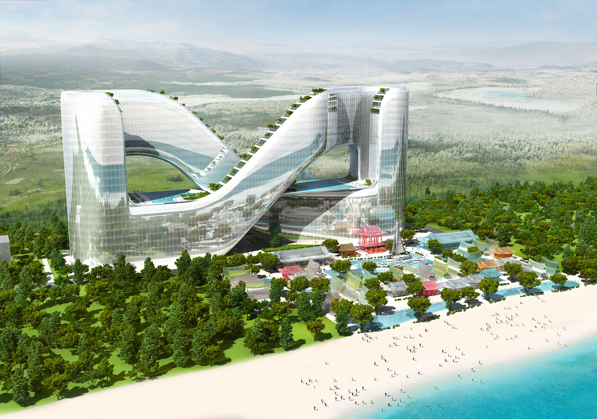 Gallery Of Planning Korea Designs Resort Hotel For Pyeongchang 2018 Winter Olympics 1