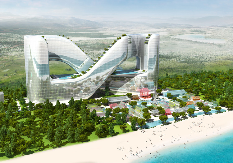 Planning Korea Designs Resort Hotel for PyeongChang 2018 Winter Olympics, Courtesy of Planning Korea
