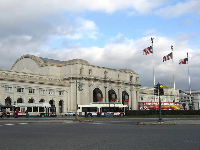 Grimshaw to Masterplan Washington DC's Union Station, Existing Washington Union Station. Image © beautifulcataya